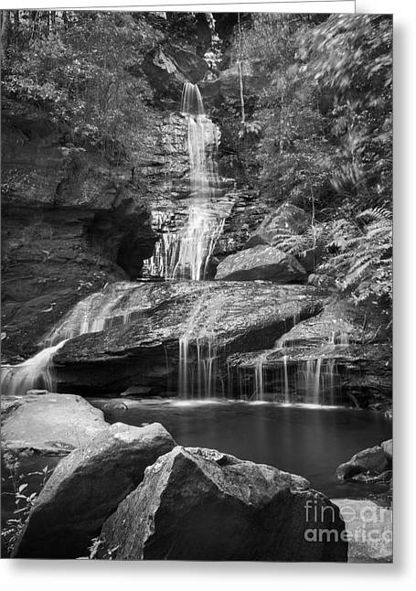 Scenic Waterfall Greeting Cards - Waterfall 03 Greeting Card by Colin and Linda McKie