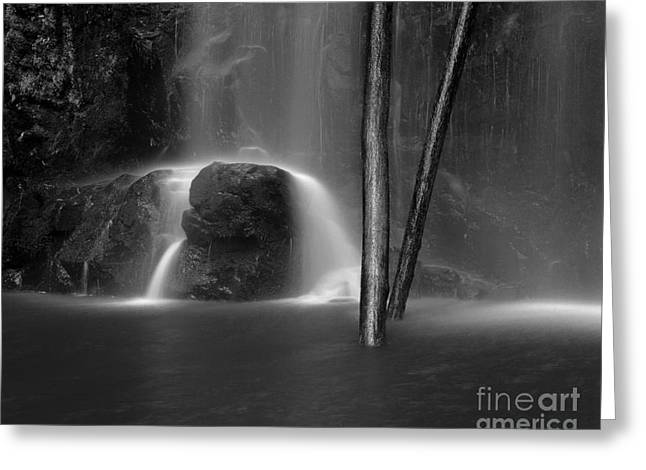 Scenic Waterfall Greeting Cards - Waterfall 06 Greeting Card by Colin and Linda McKie