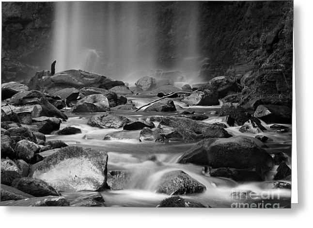 Scenic Waterfall Greeting Cards - Waterfall 08 Greeting Card by Colin and Linda McKie