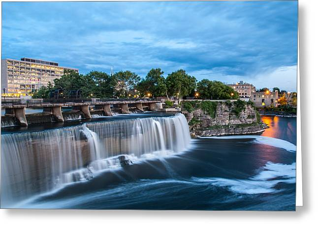 Dam Framed Prints Greeting Cards - Waterfall  Greeting Card by Bing  Lei