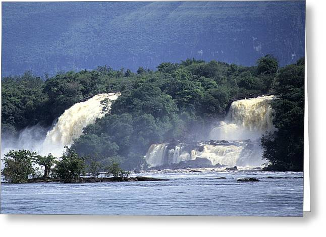 Carrao Greeting Cards - Waterfall Greeting Card by Jim  Wallace