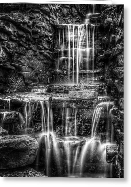 Waterfall Greeting Card by Scott Norris