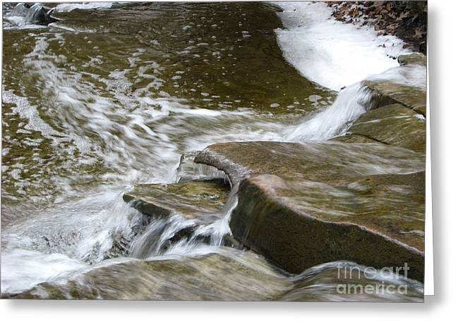 Ohio Greeting Cards - Waterfalls Greeting Card by Michael Krek
