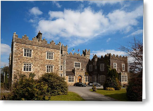 Enterprise Greeting Cards - Waterford Castle , County Waterford Greeting Card by Panoramic Images
