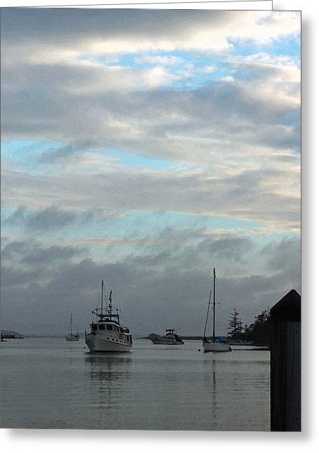 Low Country Watercolor Greeting Cards - Evening Serenity II Greeting Card by Suzanne Gaff