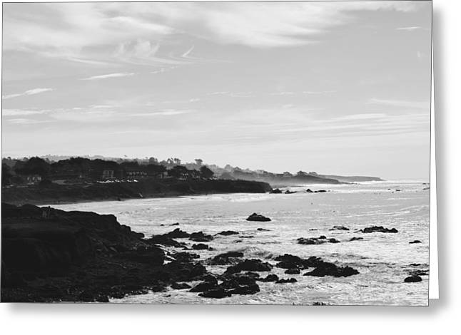 Cambria Greeting Cards - Waters Break Greeting Card by Steven Alcala
