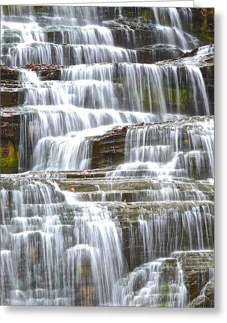 Inner Harmony Greeting Cards - Waters Eternal Flow Greeting Card by Frozen in Time Fine Art Photography