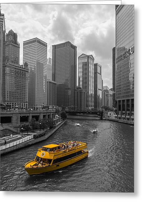 Watertaxi Greeting Card by Clay Townsend