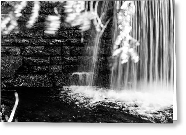 Jahred Allen Photography Greeting Cards - Waterwall Greeting Card by Jahred Allen