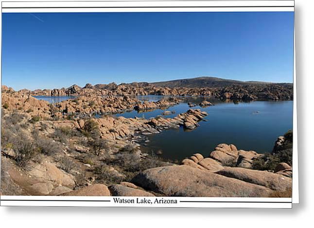 Prescott Greeting Cards - Watson Lake Arizona January 24 2011 Greeting Card by Brian Lockett