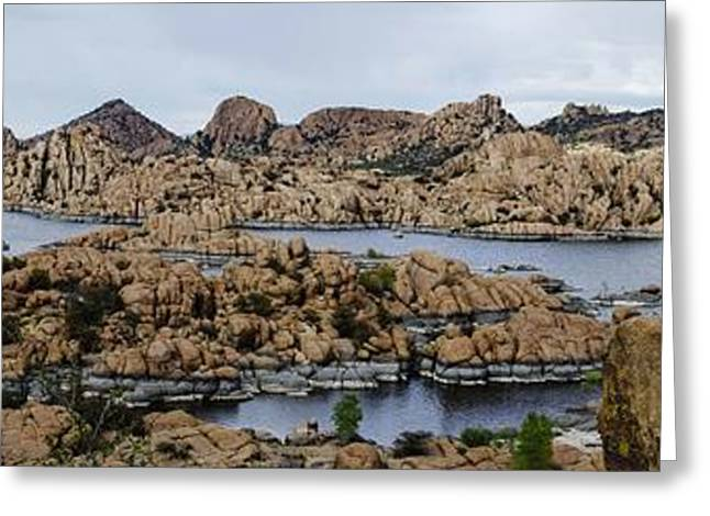 Watson Lake Greeting Cards - Watson Lake Greeting Card by Richard Henne