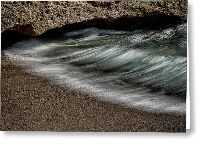 Point Lobos Reserve Greeting Cards - Wave Action Greeting Card by Robert Woodward