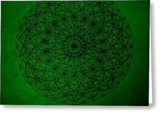 Fractal Greeting Cards - Wave Particle Duality II Greeting Card by Jason Padgett