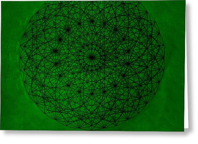 Wave Particle Duality Greeting Card by Jason Padgett