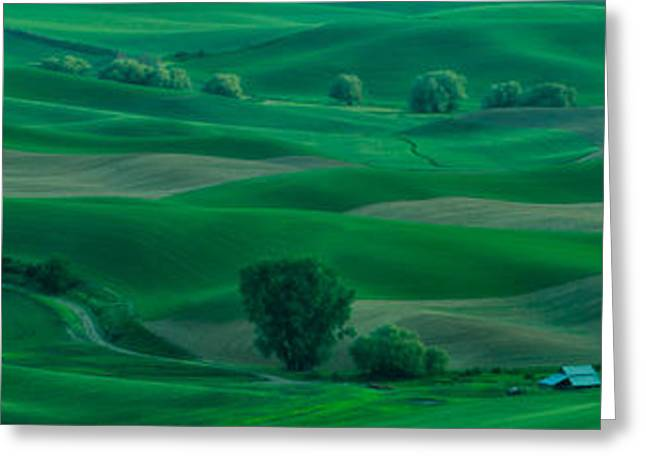 Farmers Field Greeting Cards - Waves of Beauty Greeting Card by Don Schwartz