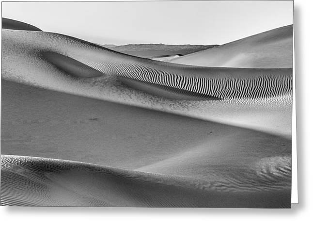 Landscape Framed Prints Greeting Cards - Waves of Sand III Greeting Card by Jon Glaser