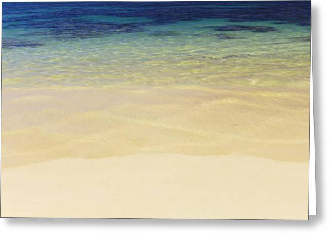 Ocean Photography Greeting Cards - Waves On The Beach, Oahu, Hawaii, Usa Greeting Card by Panoramic Images