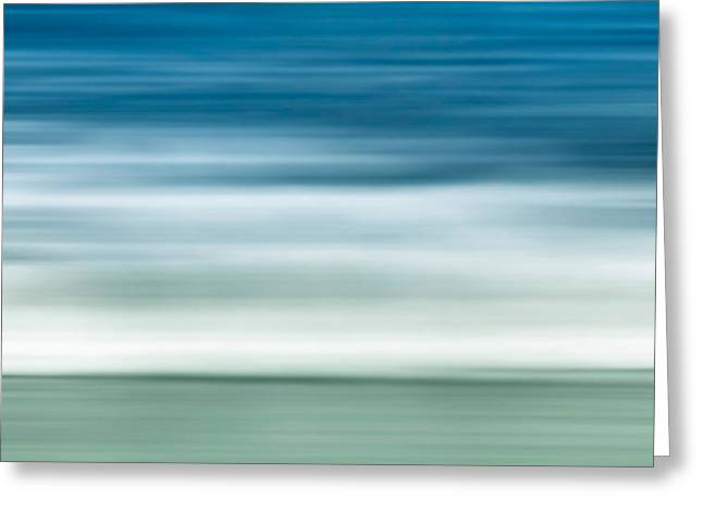 Interior Scene Photographs Greeting Cards - Waves Greeting Card by Wim Lanclus