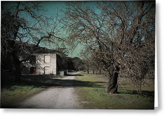 Dilapidated Digital Art Greeting Cards - Way Back When Greeting Card by Laurie Search