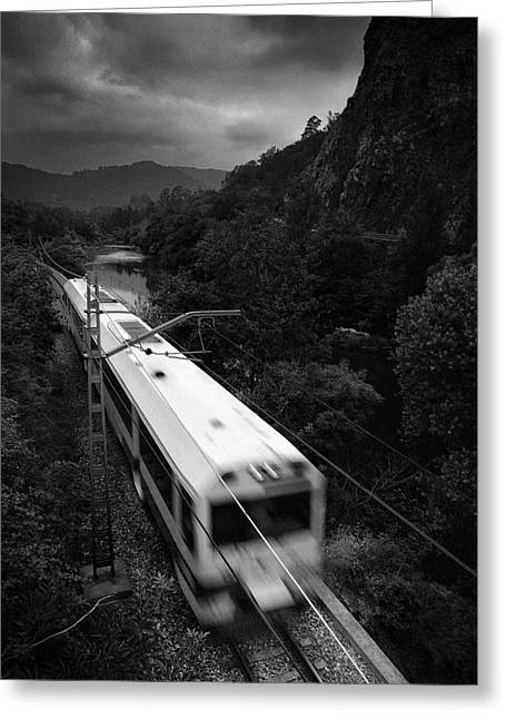 Train Bridges Greeting Cards - Way of St. James Greeting Card by Guido Montanes Castillo
