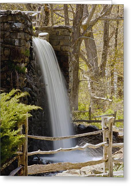 """wayside Grist Mill"" Greeting Cards - Wayside Grist Mill 7 Greeting Card by Dennis Coates"