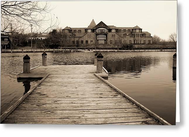 Minnesota Photo Greeting Cards - Wayzata Dock Greeting Card by Susan Stone