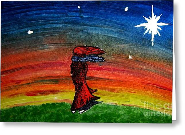 We Are All Made Of Stars Greeting Card by Elizabeth Garton