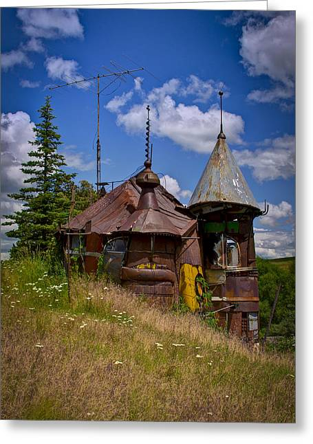 Junk Greeting Cards - We are not in Kansas Anymore Greeting Card by David Patterson
