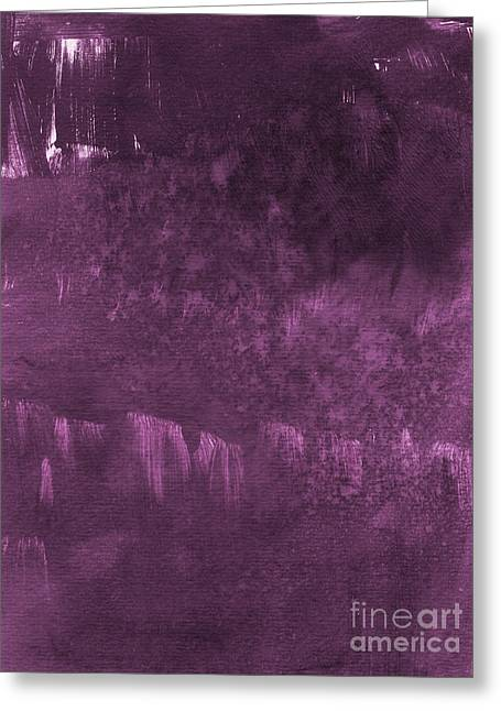 Purple Greeting Cards - We Are Royal Greeting Card by Linda Woods