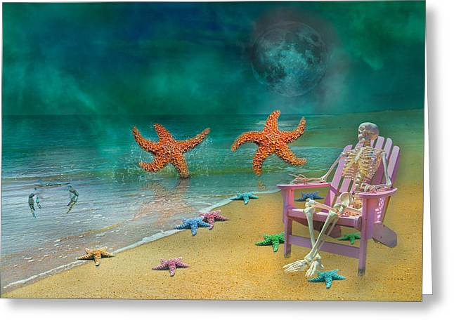 Seastar Greeting Cards - We Are Young Greeting Card by Betsy A  Cutler