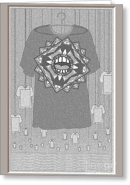 Distraught Greeting Cards - We Cant Breathe Shirt Greeting Card by Doris Rowe