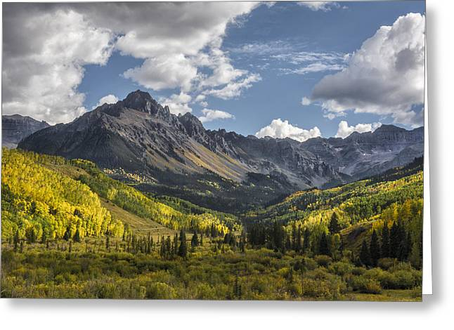 Colorado Artwork Greeting Cards - We Go Walking Greeting Card by Jon Glaser