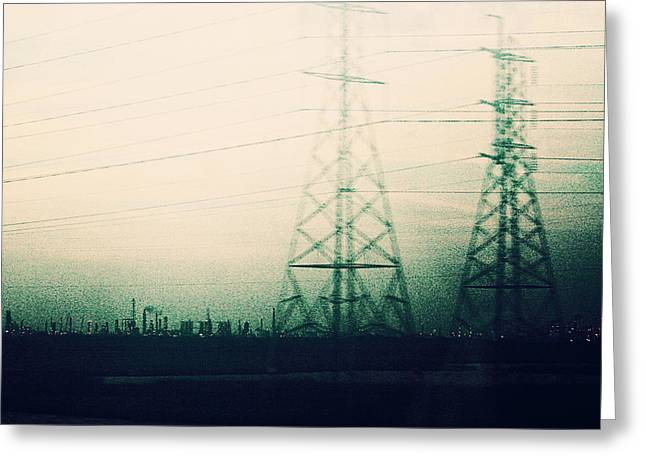 Power Plants Greeting Cards - We Stand Alone Greeting Card by Trish Mistric