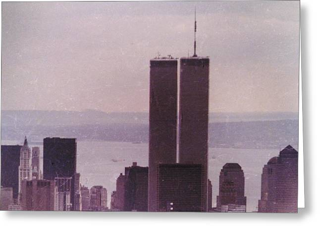 Osama Greeting Cards - We will never forget 911 Greeting Card by Norberto Medina Jr