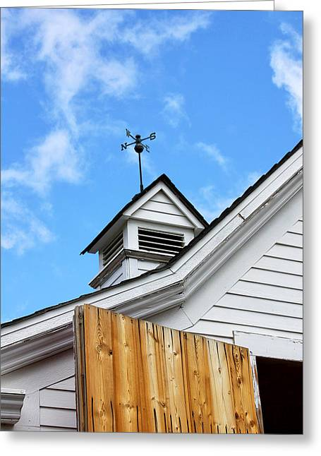 Hardware Greeting Cards - WEATHER VANE Apple Valley Greeting Card by William Dey