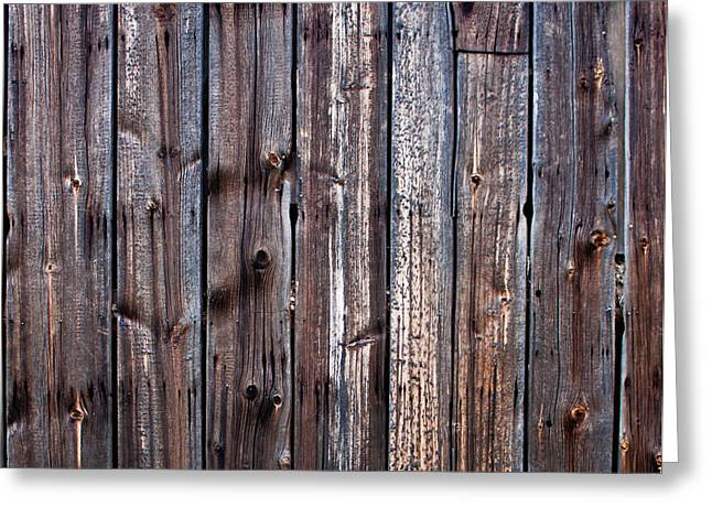 Cvnp Greeting Cards - Weathered Barn Wall Greeting Card by Claus Siebenhaar