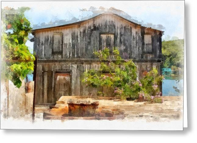 Santiago Cuba Greeting Cards - Weathered Greeting Card by Dawn Currie