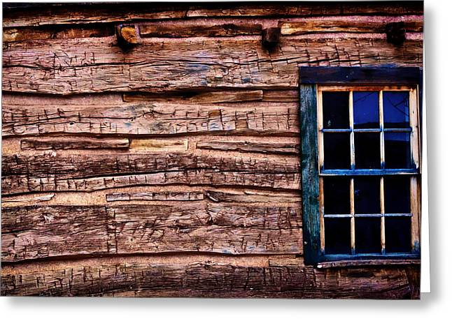 Hunting Cabin Digital Art Greeting Cards - Weathered Greeting Card by Paul Smith