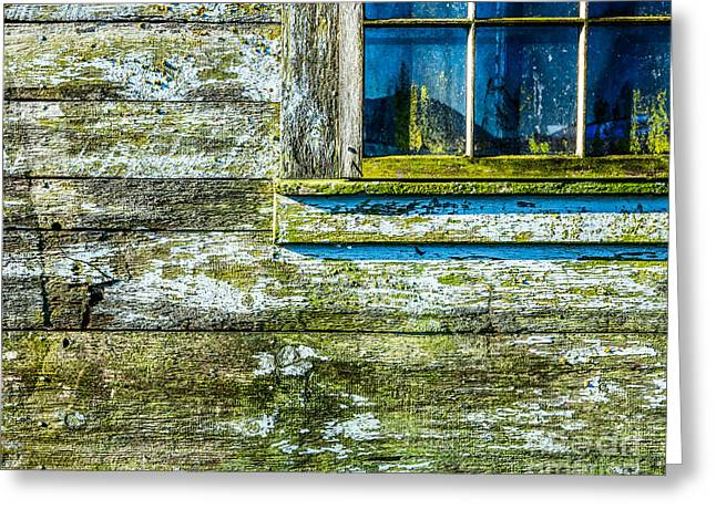 Spring In Maine Greeting Cards - Weathered Greeting Card by Susan Cole Kelly Impressions