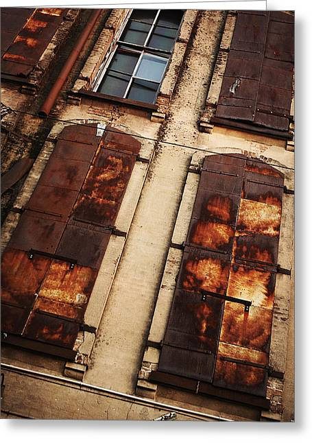 Rust Greeting Cards - Weathered Greeting Card by Thomas Zimmerman