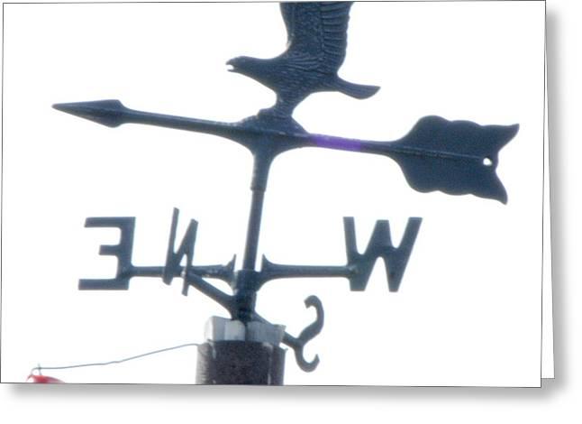 Weathervane Greeting Cards - Weathervane BBBO Greeting Card by Wayne Sheeler