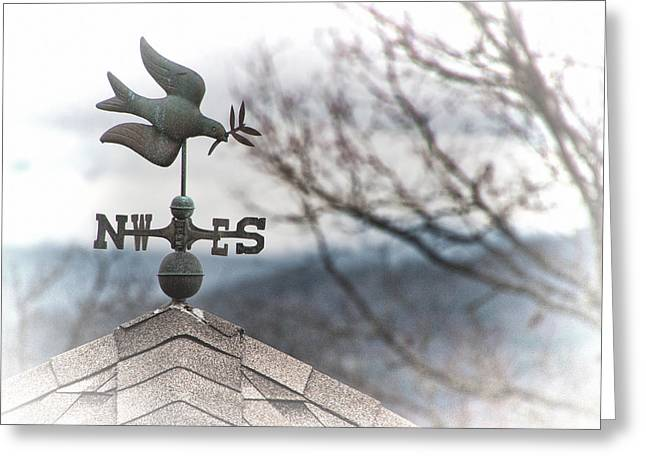Weathervane Greeting Cards - Weathervane Greeting Card by Joan McLean