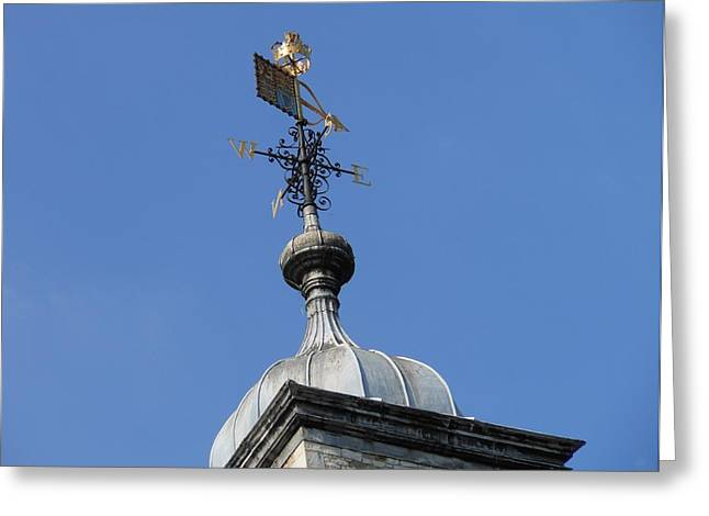 Weathervane Greeting Cards - Weathervane Greeting Card by Kay Gilley