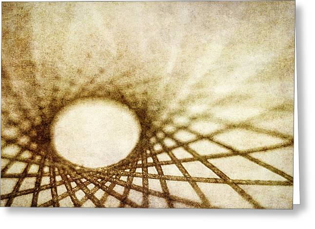 Warm Tones Greeting Cards - Web of Life Greeting Card by Scott Norris