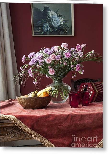 2013 Digital Art Greeting Cards - Wedding Flowers Greeting Card by Donald Davis