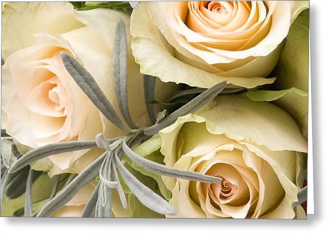 Wedding Flowers Greeting Card by Wim Lanclus