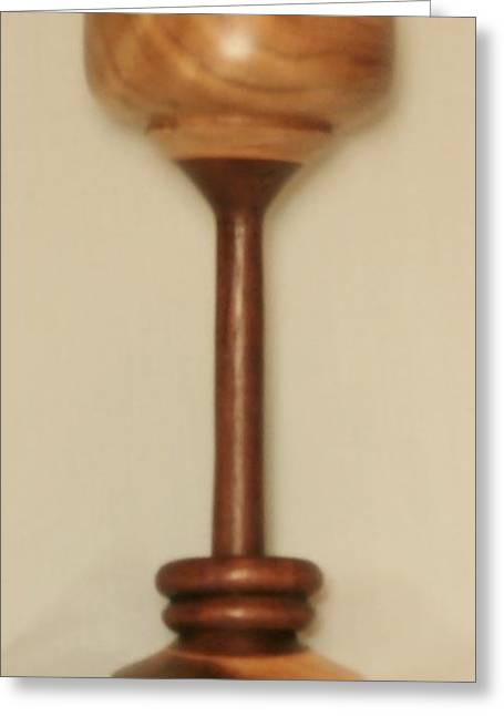 D Sculptures Greeting Cards - Wedding Goblet Greeting Card by Russell Ellingsworth