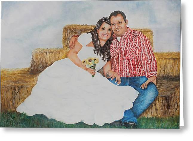 Your Choice Greeting Cards - Wedding Memories Greeting Card by Charlotte Hastings