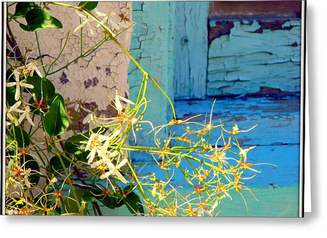 Indiana Flowers Greeting Cards - Weeds and Wood Greeting Card by Kathy Barney