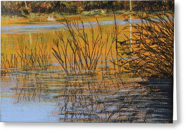 Weed Pastels Greeting Cards - Weeds Water and Magic Greeting Card by Sue Lewis